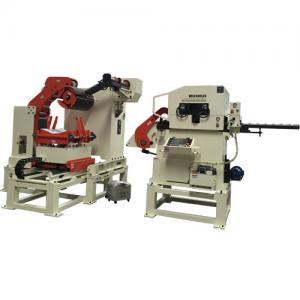 China 380V 50Hz Steel Coils Sheet Plate Straightening Machine Sheet Metal Forming Roller Feeder Feeding Step on sale