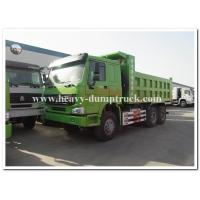 Quality HOWO  336 hp new condition diesel fuel type dump truck with Q345 Steel heavy tipper wholesale