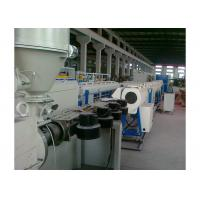 Cheap Low Noise Pvc Pipe Manufacturing Machine , Plastic Pipe Production Line Stable Performance for sale