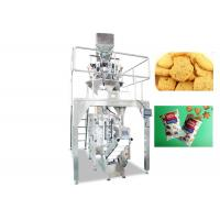 Cheap 220V / 380V Cookies Food Pouch Packaging Machines / Food Packaging Equipment for sale
