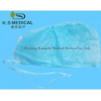Cheap Nonwoven Disposable Surgeon Cap , Disposable Surgical Products For Hospital for sale