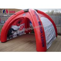 Quality Spider Shaped Inflatable Event Tent Inflatable Camping Tents Shelters wholesale