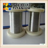 China nickel titanium shape memory alloy wires on sale