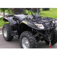 China Liquid Cooled Single Cylinder Sport Utility Atv , 500cc Two Seater Atv With Plow on sale