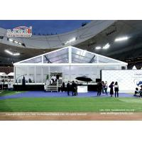 China Big Clear tents marqueen used for events or sports with aluminum frame on sale