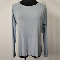 Quality Customizable Blue Microfiber Ladies Knitted Pullover S - XL Optional wholesale