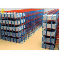 China Mobile Drive In And Drive Through Racking / Heavy Duty Pallet Racking System on sale