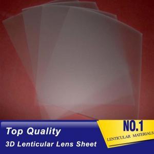 China PLASTICLENTICULAR 75 lpi lenticular printing sheet-PP lenticular sheet array supplier China-3d lenticular lens for sale on sale