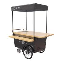 China Disc Brake Ice Cream Push Cart Push Scooter For Coffee Vending 25° Climbing on sale
