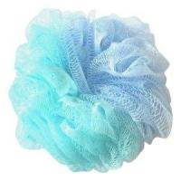 Quality large mesh bath ball with double colours wholesale