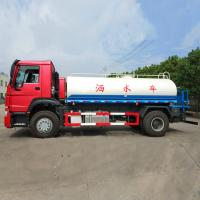 China China Water Tank Truck Hot Sale 290HP, Euro 2 Standard Tank Truck, Water Hauling Truck, Water Transport Truck on sale