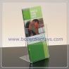 Single Pocket Clear Acrylic Portable Brochure Holders for sale