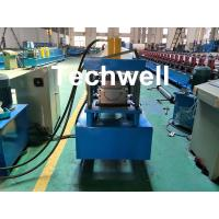 Quality Custom Made Half Round Gutter Cold Roll Forming Machine For 15 Stations Forming Stage wholesale