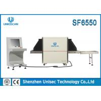 Quality 6550 Medium Tunnel X Ray Baggage Scanner Multi - Energy For Airport  wholesale