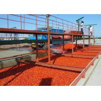Quality High Effiency Vegetable Processing Line Tomato Puree Production Line With Aseptic Filling System wholesale