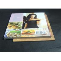 Quality Gloss Lamination Customized Cookbook printing , hardcover photo book printing wholesale
