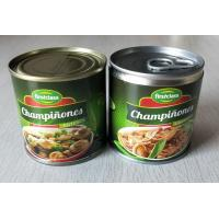 Quality 184G Canned Champignon Mushroom Canned Fresh Mushrooms Slices / Pieces And Stems wholesale