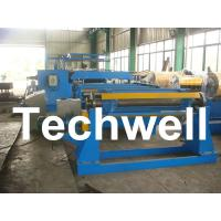 Quality 380V / 50Hz / 3Ph 30KW Simple Slitting Line For Slitting Coil Into 12 strips wholesale