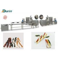 Buy cheap Chewing Gum Snacks Extrusion Machine Pet Favorite Double Color Dog Treats from wholesalers