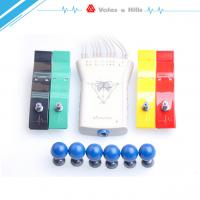 Quality Grey Handheld ECG Machine , Portable Heart Monitoring Device With ECG Analysis Software wholesale
