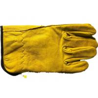 Quality No Lining Short Sheepskin Beekeeping Gloves Abrasion Resistant without Sleeve wholesale