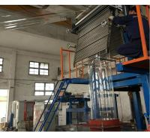 China Pvc Drink Label Printing PVC Film Blowing Machine High Durability SJ55×28-Sm1000 on sale