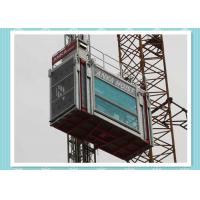 Quality Heavy Load Capacity Man And Material Hoist , High Speed Construction Hoist wholesale