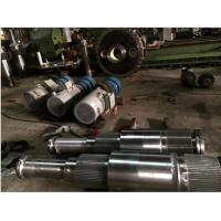 China Thield Tunneling Machine Machinery Forged Forging Steel Splined shafts Main Shafts on sale