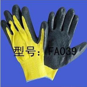 Quality 13 Gauge Kevlar Cut resistance Glove Nitrile Palmed wholesale
