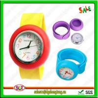China Fashion Exchangeable Silicone Snap Watches on sale