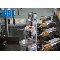 Buy cheap Full automatic 4 stations brushless electric motor stator coil winding machine for sale from wholesalers