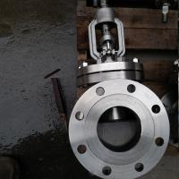 Quality Stem Cast Steel Globe Valve For Flow Control CF8 CF8m RF Flanged To Class Ansi 300lb wholesale