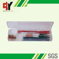 Quality Pre - Cut 140 Strips Breadboard Jumper Cables Box With Copper Clad Aluminum Conductor wholesale