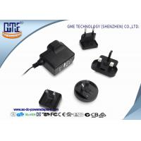 Quality Interchangeable 5V 1A AC DC Power Adapter CE CB GS UL FCC PSE ROHS RCM wholesale