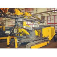 Quality Hydraulic Crawler Drills Compact Size For Speed Adjusting with  360° in horizontal direction wholesale