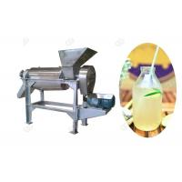 China Industrial Fruit Juice Making Machine , Spiral Squeeze Juice Extractor Machine on sale