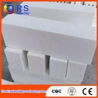 Quality High Purity Corundum Brick , Lower Porosity White Fire Insulation Bricks wholesale