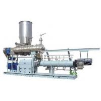 Quality 1000kg/h twin screw extruder Jordan  floating fish feed machine price wholesale