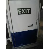 China White Coating A60 Weathertight Marine Doors Single Leaf Steel Exit Door on sale