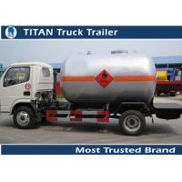 Quality LPG Mobile Gas Filling Tanker Trailer , Customized Truck Trailer wholesale