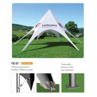 Quality Outdoor Personalized Canopy Tents, Foldable Star Custom Printed Pop Up Tents wholesale
