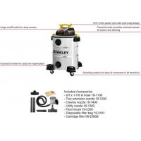 China Stainless Steel Commercial Wet Dry Vacuum Cleaner Wet And Dry 10 Gallon / 40L 5.5HP on sale