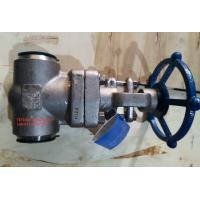 Quality BS 5352 Socket Weld Stainless Steel Gate Valve Class 1500 With BW End wholesale