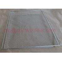 Quality Food Grade Metal Wire Mesh Tray For Drying Ss Perforated Container wholesale