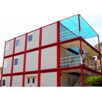 Quality Warm Cool Steel Container Houses , Metal Container Houses With Air Conditioner wholesale