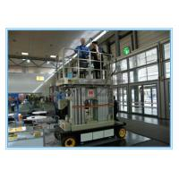 Quality Four Mast Self Propelled Aerial Scissor Lift 10m For Business Decoration wholesale