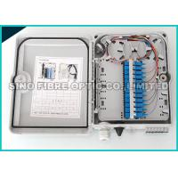 Quality 0.75Kg Double Layer Fiber Optic Distribution Box 12 Simplex Drop Outside wholesale