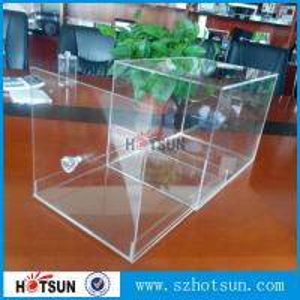 Cheap 2016 New design acrylic shoe box/clear shoe box, Custom Shoe Box Manufacturer for sale