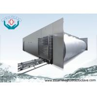 China Recessed Through Wall Hospital Steam Sterilizer Equipment With Pre - vacuum And Post Vacuum Phase on sale