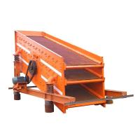 China Mineral Products Inclined Vibrating Screen Machines Self Synchronization on sale